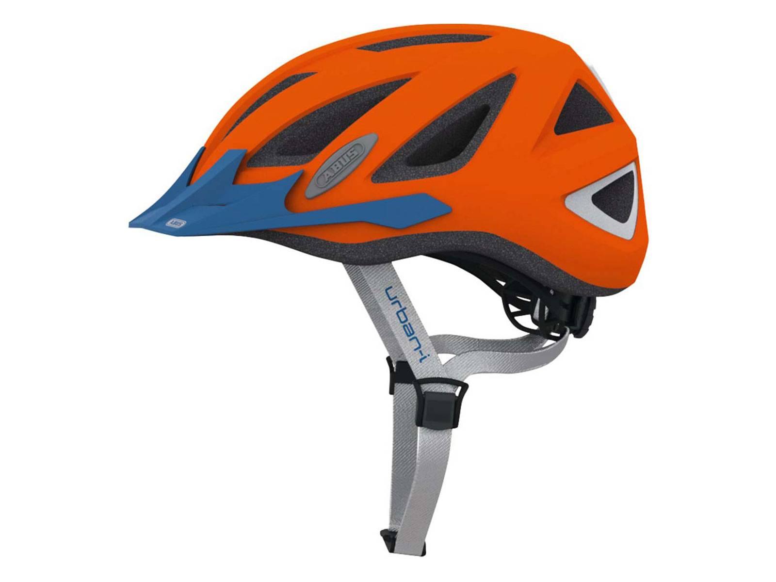 abus fahrradhelm urban i 2 0 l orange fahrradkomfort. Black Bedroom Furniture Sets. Home Design Ideas