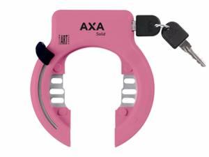 AXA Fahrrad Rahmenschloss Solid XL rosa