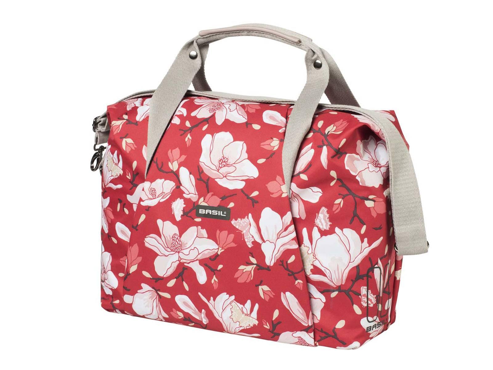 Basil Fahrradtasche Umhängetasche Magnolia Poppy Red