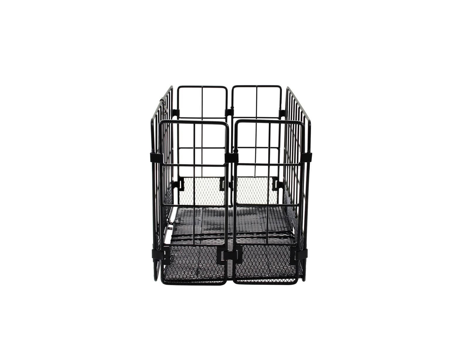 around fahrradkorb hinten klappkorb schwarz fahrradkomfort. Black Bedroom Furniture Sets. Home Design Ideas