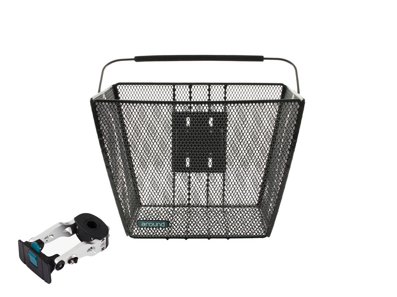 around fahrradkorb vorne ace lenkerrohrhalter sch fahrradkomfort. Black Bedroom Furniture Sets. Home Design Ideas