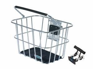 AROUND Fahrradkorb vorne ACE VR ALU inkl. Lenkerhalter, alu