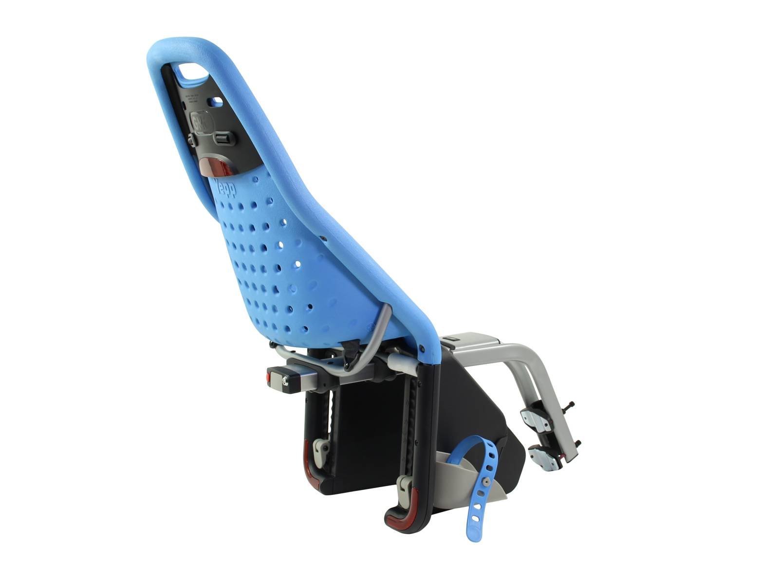 gmg yepp fahrrad kindersitz hinten maxi blau fahrradkomfort. Black Bedroom Furniture Sets. Home Design Ideas
