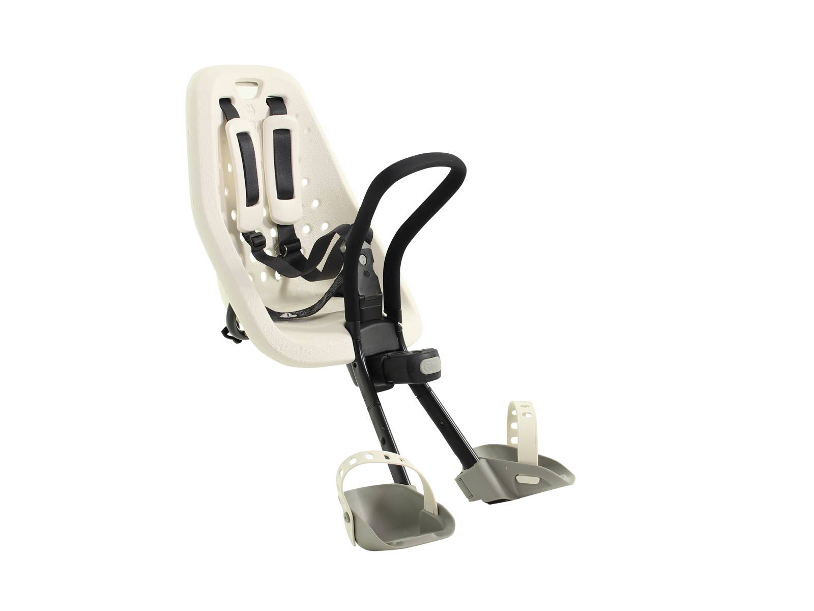 gmg yepp fahrrad kindersitz vorne mini weiss fahrradkomfort. Black Bedroom Furniture Sets. Home Design Ideas