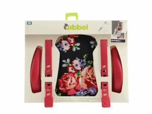 Qibbel Luxus Styling Set Fahrrad Kindersitz vorne Basil Roses