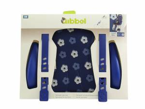 Qibbel Luxus styling set Fahrrad Kindersitz vorne Royal Blue