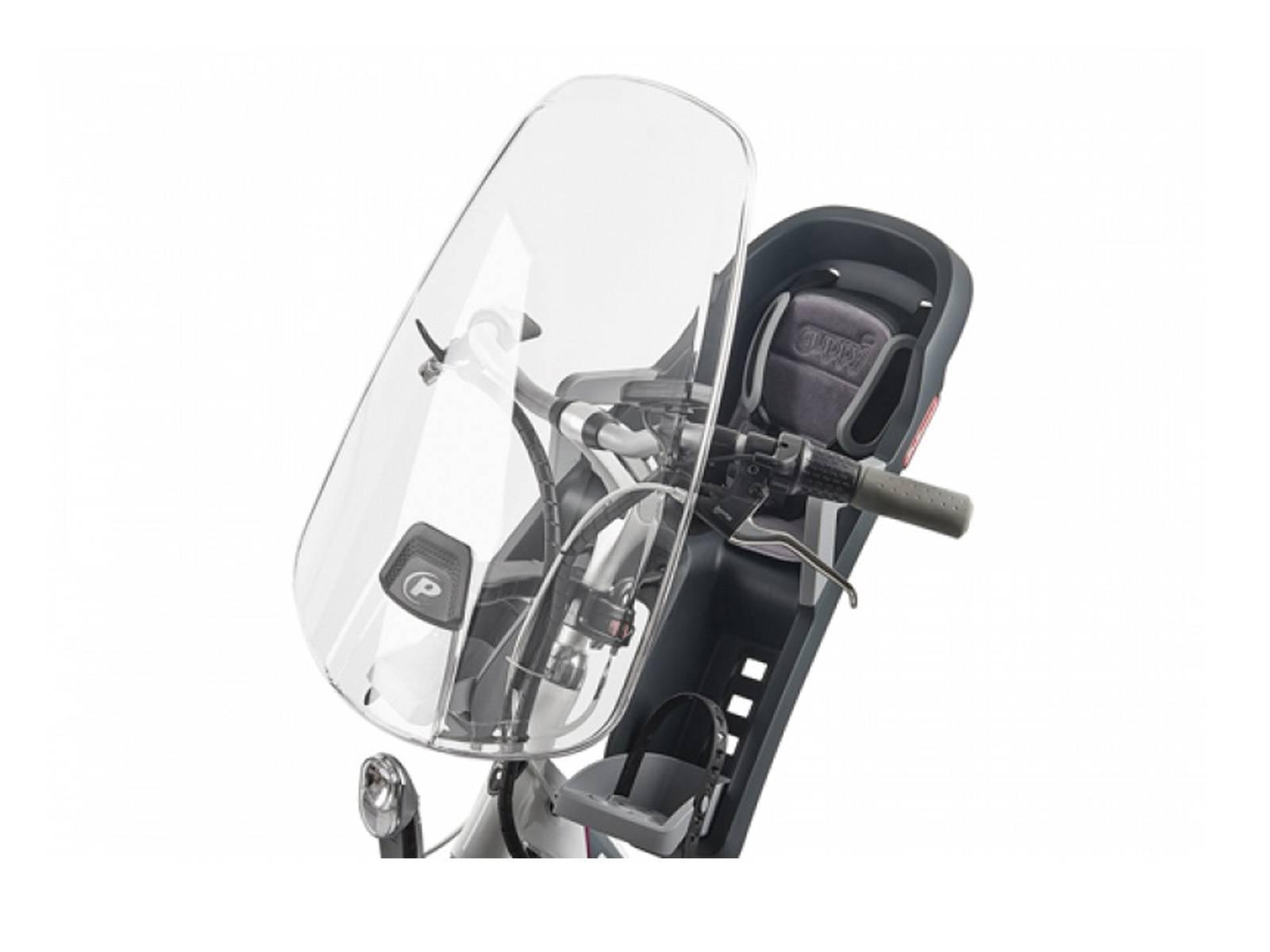 Polisport Windschutzscheibe Fahrrad Kindersitz Vorne Fahrradkomfort