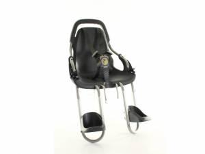 Qibbel Fahrrad Kindersitz vorne Basiselement schwarz