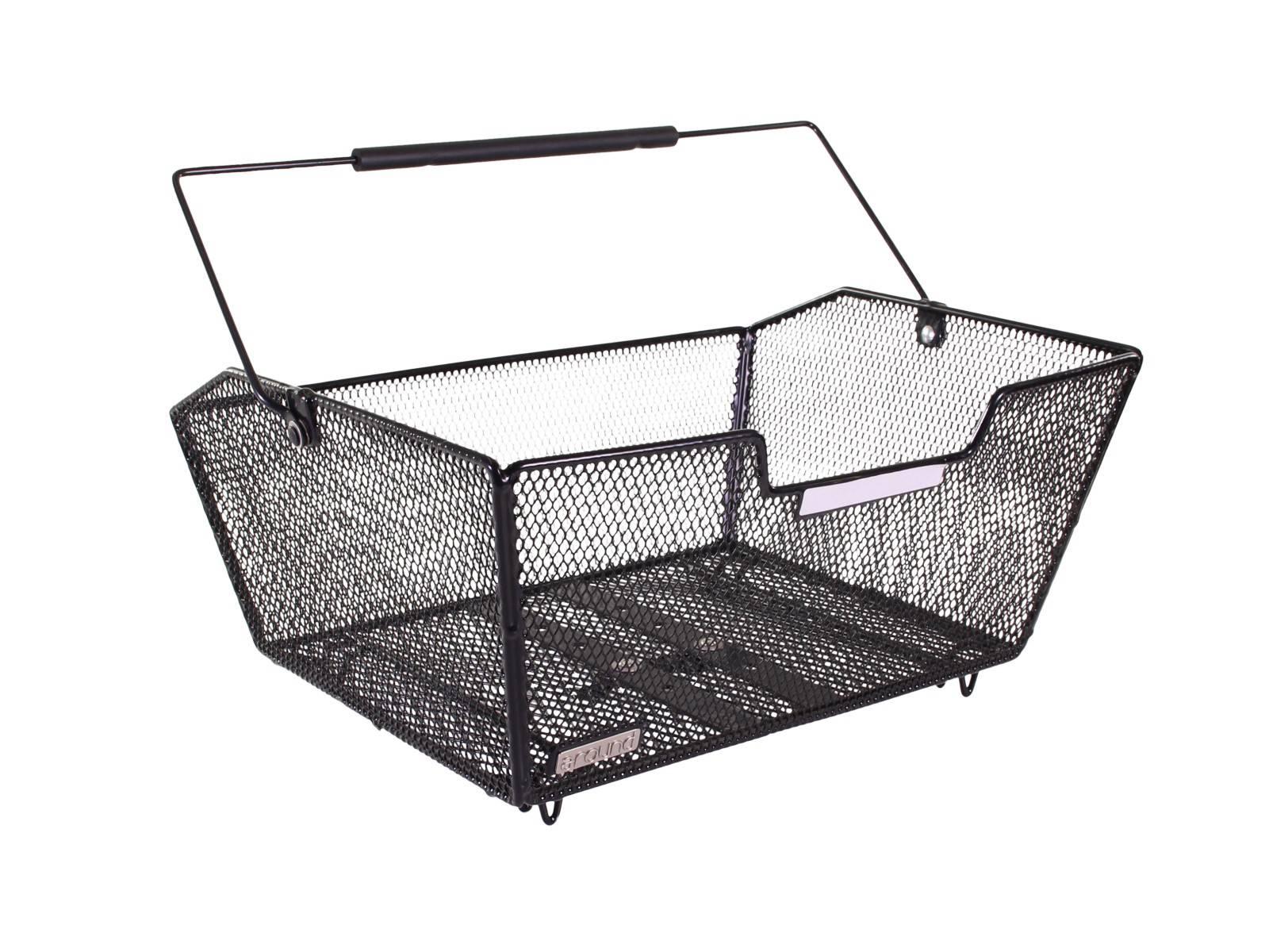 around fahrradkorb hinten fine comfort fahrradkomfort. Black Bedroom Furniture Sets. Home Design Ideas