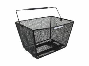 AROUND Fahrradkorb hinten Fine XL High Comfort abnehmbar, schwarz