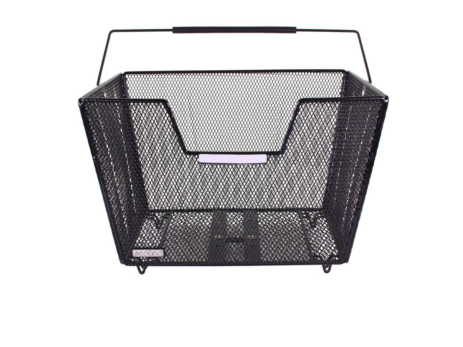 around fahrradkorb hinten fine xl high comfort. Black Bedroom Furniture Sets. Home Design Ideas