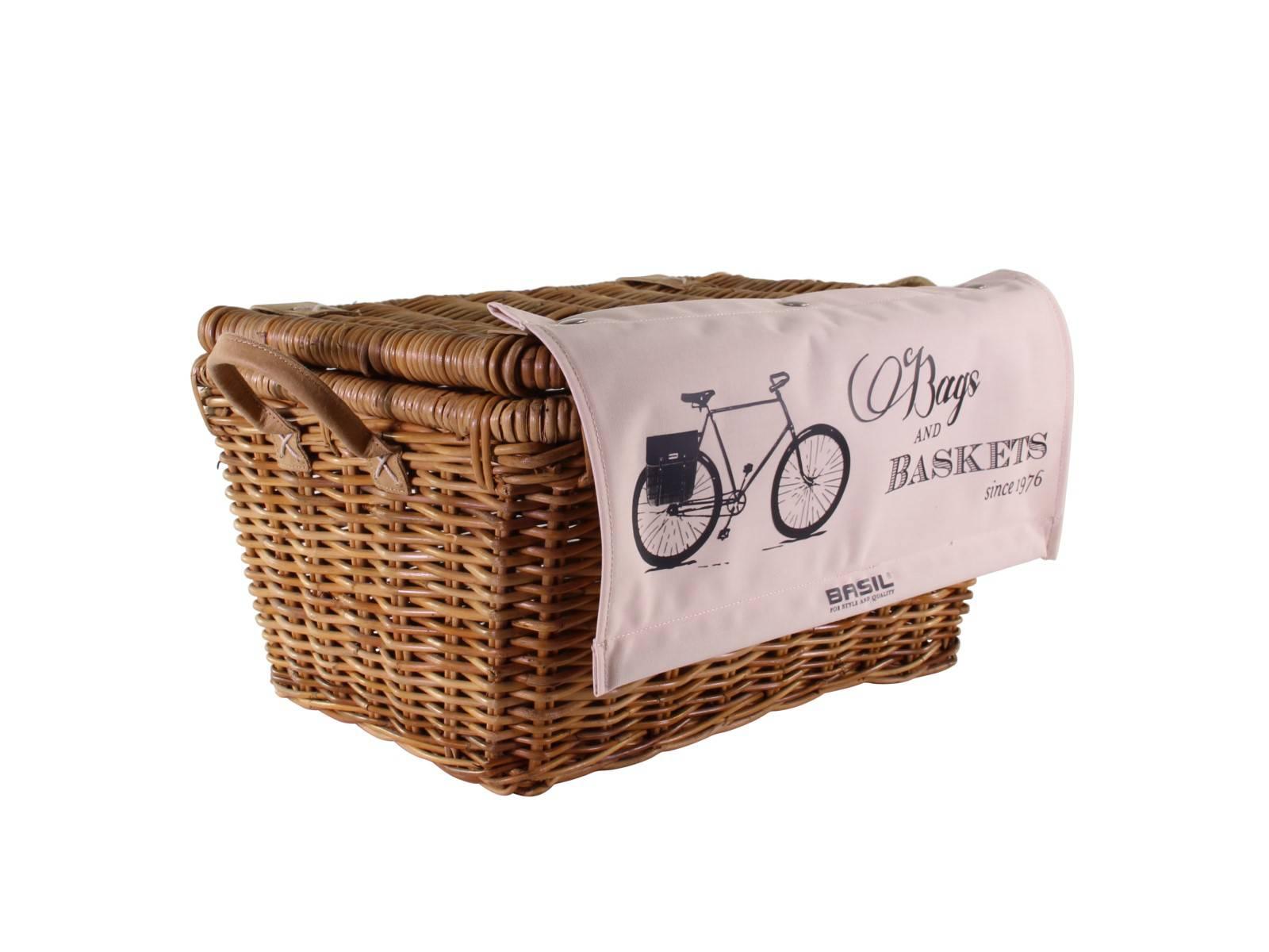 basil vr fahrradkorb vorne rattan portland mit deckel fahrradkomfort. Black Bedroom Furniture Sets. Home Design Ideas