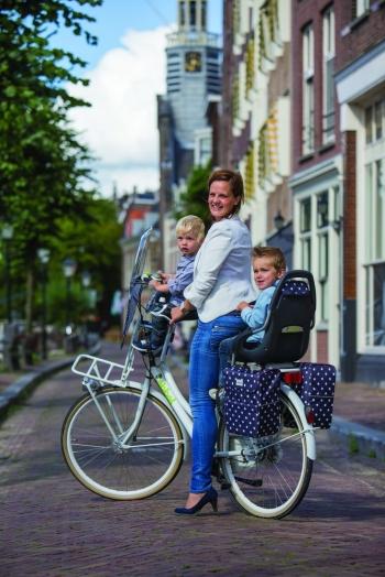 Neue trendige Qibbel Fahrradsitze komplett und vormontiert